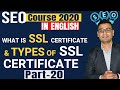 #20 SEO Course 2020 | What is SSL Certificate?(in English)