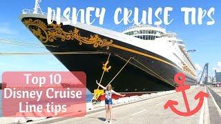 Top 10 Disney Cruise Line tips