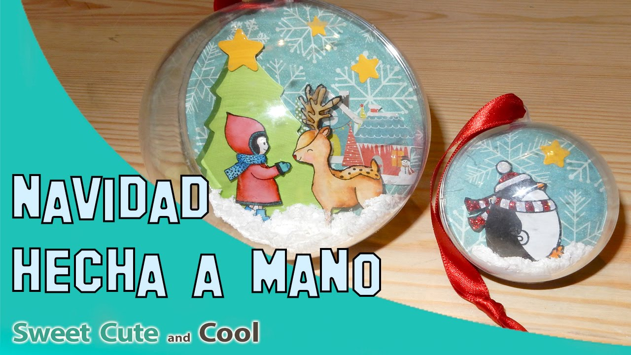 Adornos de navidad hechos a mano youtube - Adornos de navidad hechos a mano por ninos ...