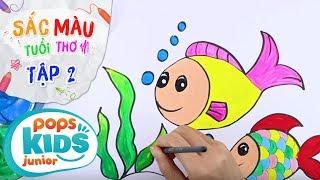 Sắc Màu Tuổi Thơ - Tập 2 - Bé Tập Vẽ Con Cá | How To Draw Fish For Fids