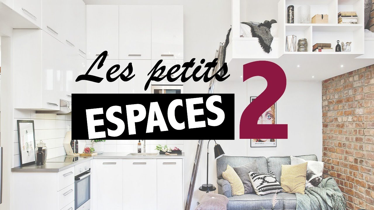 petits espaces 8 astuces pour optimiser ses m tres carr s youtube. Black Bedroom Furniture Sets. Home Design Ideas