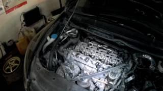 Двигатель honda r20 после масла Shell (5w40) & Idemitsu zepro racing (5w40)