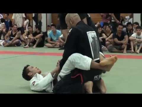 森脇涼 vs Vanderei Takasaki / Jiu Jitsu Priest CUP 2014 GIFU