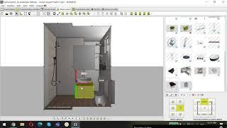 Asezarea obiectelor 3D in proiect