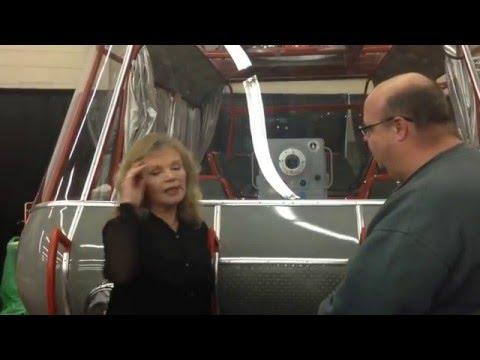 Marta Kristen of Lost In Space Dec 5, 2015 @ N.E. Comicon