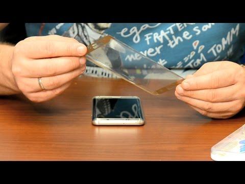 видео: Как быстро, просто и качественно наклеить защитное стекло на телефон