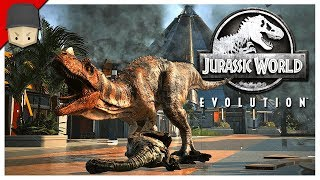 Jurassic World Evolution - ISLA MUERTA! : Ep.03 (Jurrassic World Evolution Gameplay)