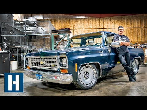 Slammed, Chopped, and Notched: Zac's C10 Chevy Gets LOW