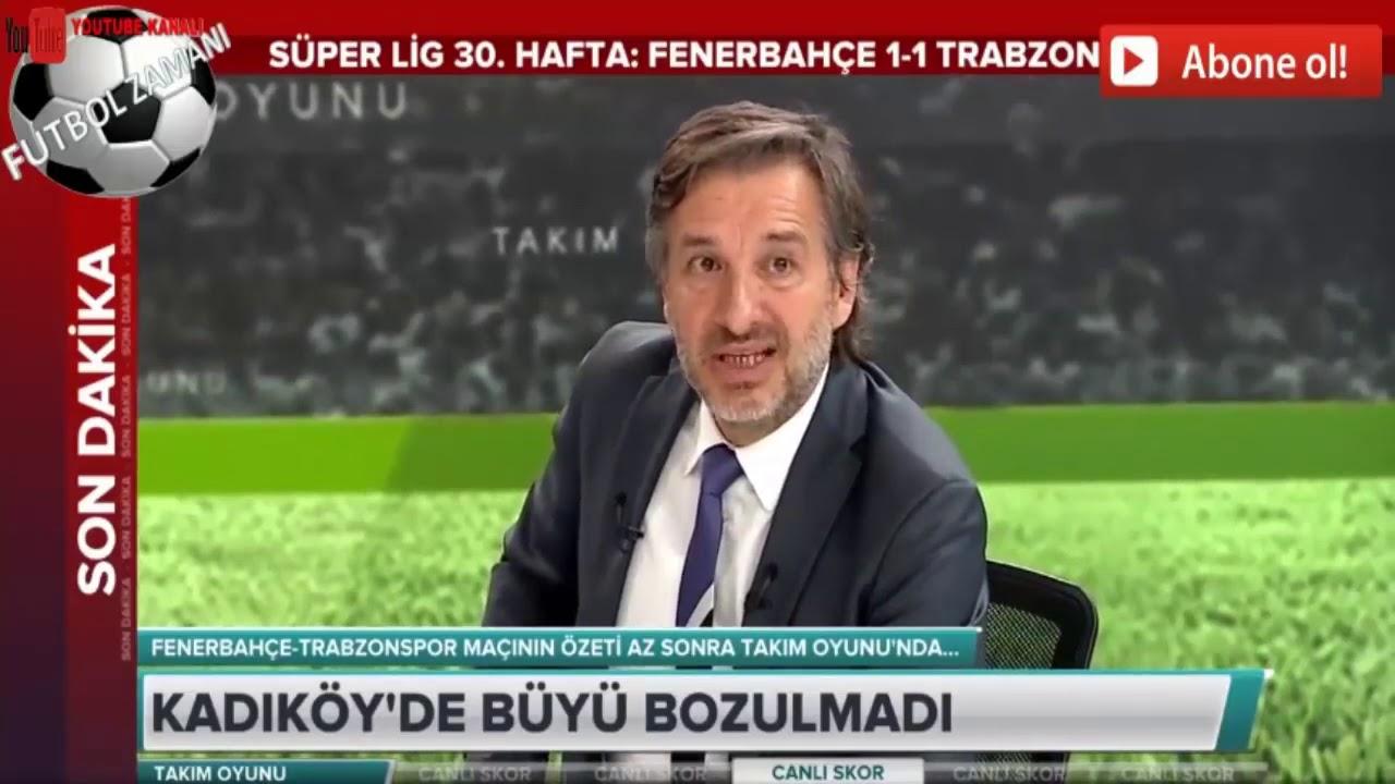 Fenerbahçe 3 - 1 Trabzonspor Erman Toroğlu Devre Arası Yorumları! / A Spor / Takım Oyunu/ 25.10.2020