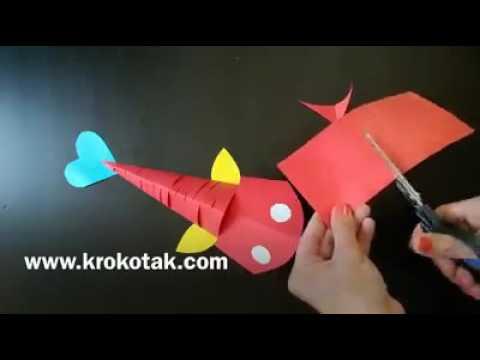 Amazing Moving Paper Fish