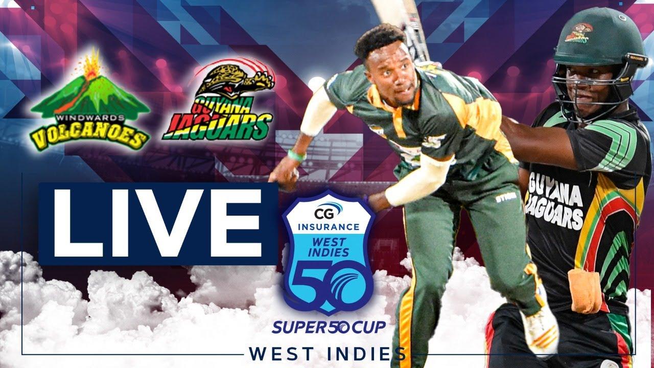 🔴LIVE Windward Islands vs Guyana | CG Insurance Super50 Cup