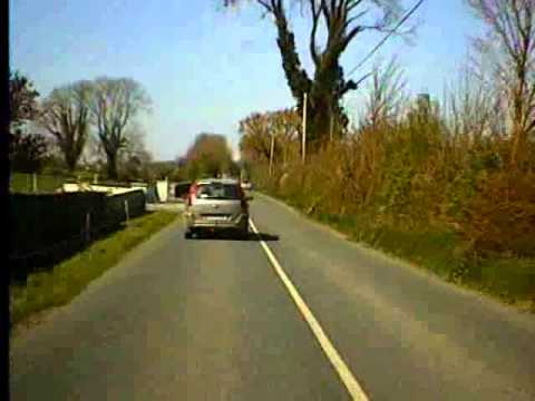 Road trip from Cloghan Co. Offaly to Ballinasloe Co. Galway