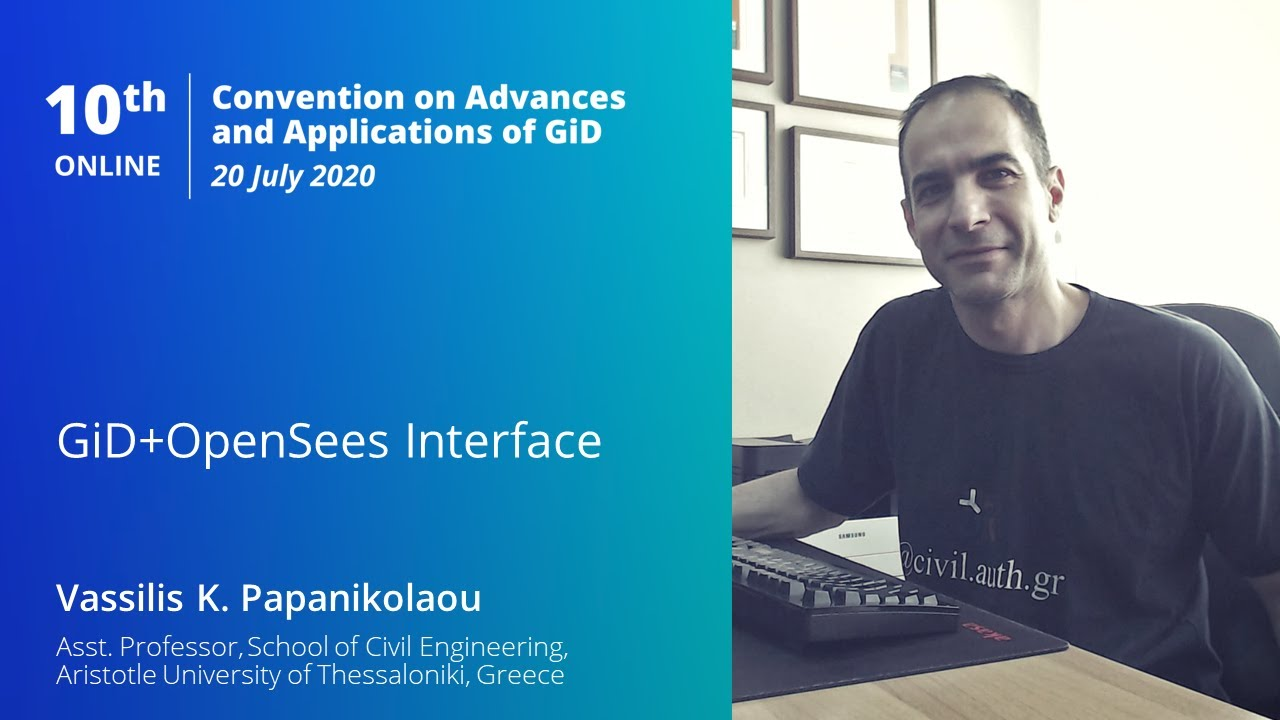 Download GiD+OpenSees Interface | GiD Convention Online 2020