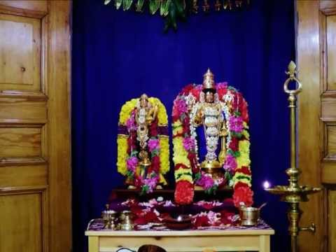 Tamil Hymn (Pasuram) from Divyaprabandham (Nachiyar Thirumozhi) -