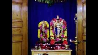 "Tamil Hymn (Pasuram) from Divyaprabandham (Nachiyar Thirumozhi) - ""Vaaranam Aayiram"" (Aandal Kanavu)"