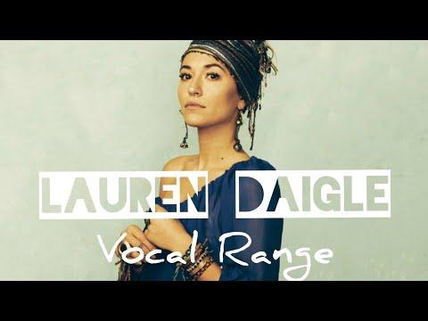 Lauren Daigle Vocal Range: D3 - E5 - C6