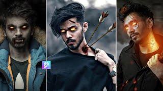 Picsart Realistic Devil ☠️ Concept Photo Editing || Picsart latest tutorial screenshot 4