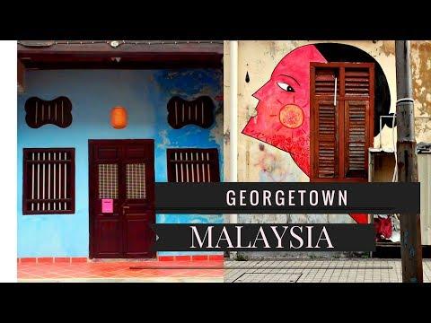 Georgetown Malaysia...Penang Malaysia...My Malaysian Travel Vlog