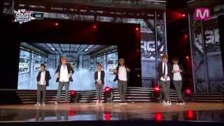EXO_으르렁 (Growl by EXO on Mcountdown 2013.8.29)