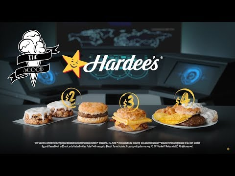 Hardee's NEW Breakfast Value Menu 2*3*MORE Overhaul Limited Time Deals - The Scoop