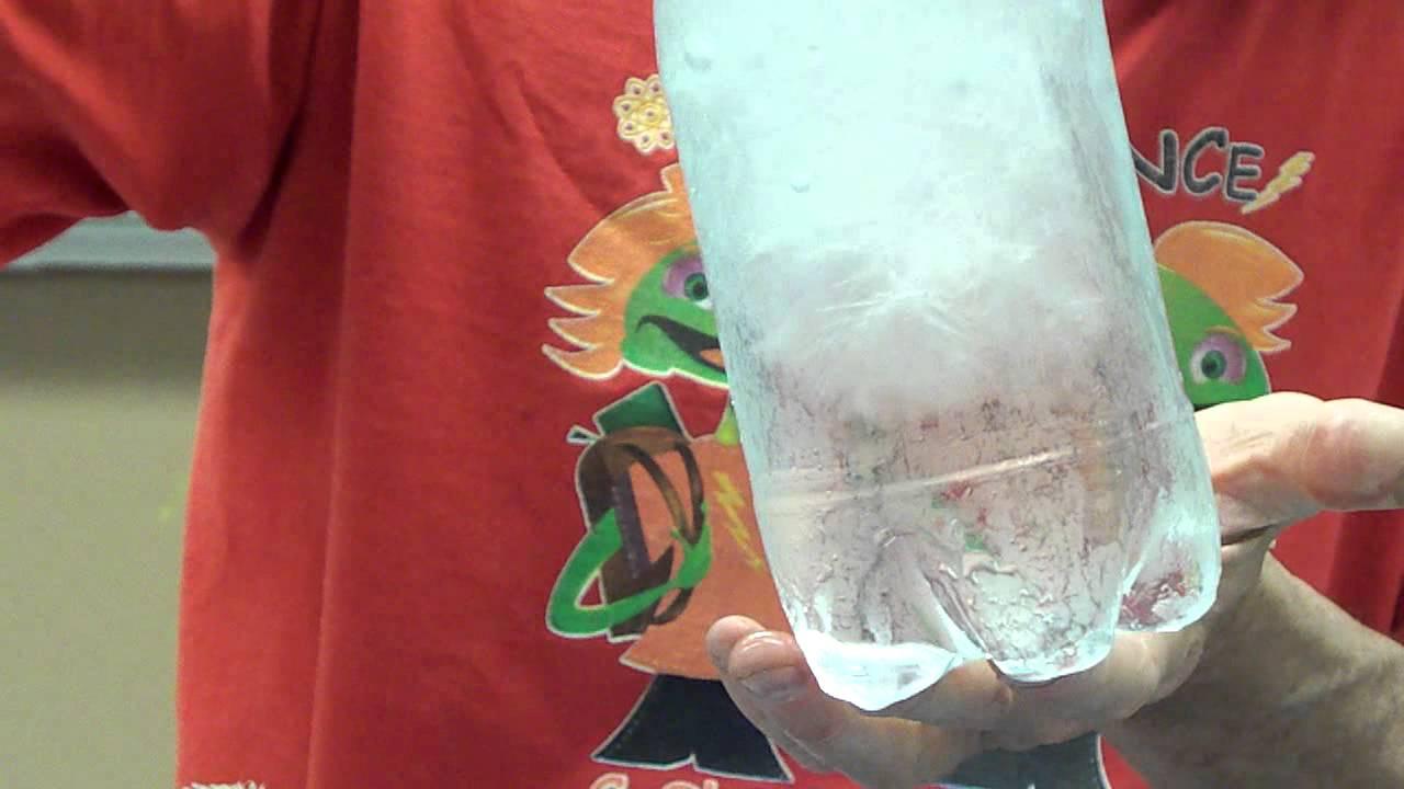 Instant Freeze Water