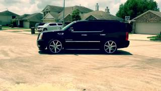 My dropped Escalade on 24s