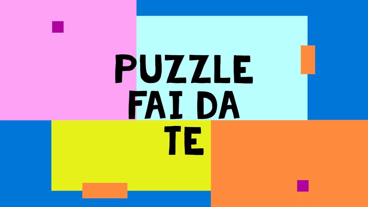 🦁 Puzzle fai da te - YouTube