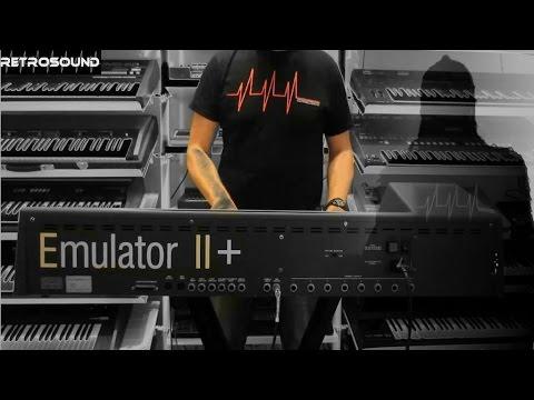 E-mu Emulator II Vintage Sampling Synthesizer (1984) movie soundtrack style