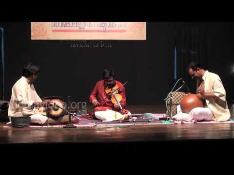 Thillana violin performance by A. Jayadevan
