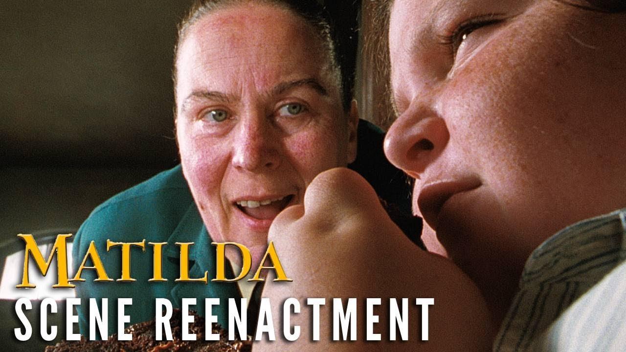 MATILDA - Chocolate Cake Scene Reenactment | Cast Reunion