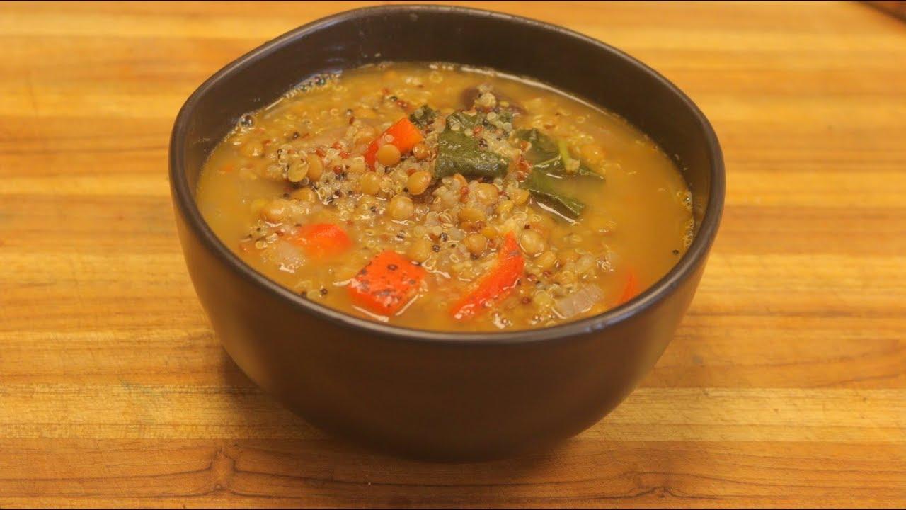 Lentil soup recipe vegan soup vegetable soup with lentils how lentil soup recipe vegan soup vegetable soup with lentils how to cook lentils healthy soup healthy recipe channel forumfinder Choice Image