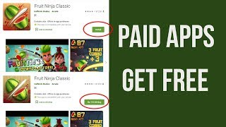 HOW TO GET PAID APPS FOR FREE ON ANDROID 2020 PLAY STORE  GET FREE ANDROID GAMES