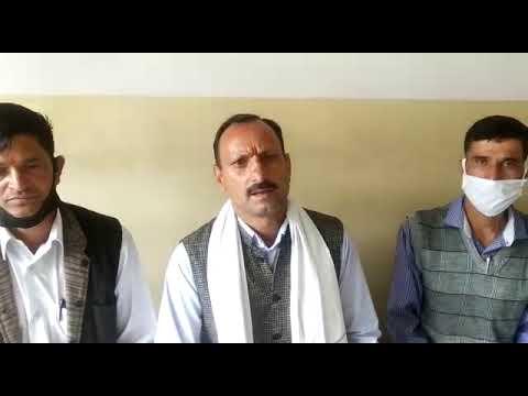 भरमौर ! सेब उत्पादक संगठन भरमौर के बागवानों ने प्रदेश के मुख्यमंत्री जयराम ठाकुर को सौंपा एक ज्ञापन।