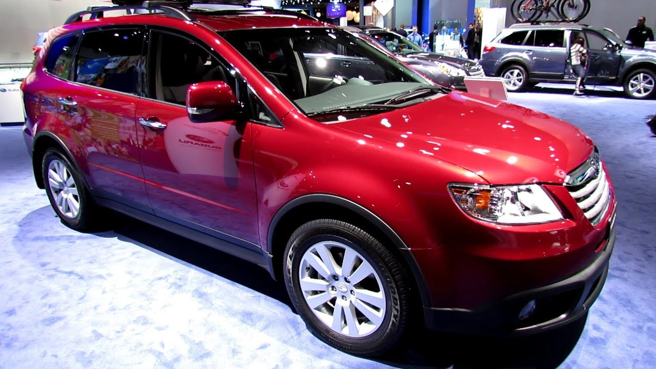 Subaru Tribeca Interior >> 2013 Subaru B9 Tribeca - Exterior and Interior Walkaround - 2013 Detroit Auto Show - YouTube