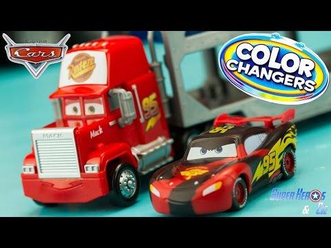 download video disney cars color changers mack truck. Black Bedroom Furniture Sets. Home Design Ideas