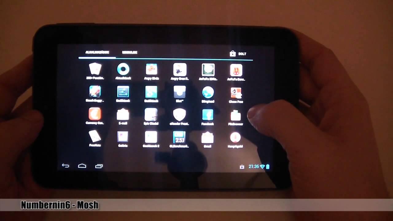 Prestigio MultiPad 7.0 Prime Duo - PMP5770   PROHARDVER! - YouTube eff1c1c3757