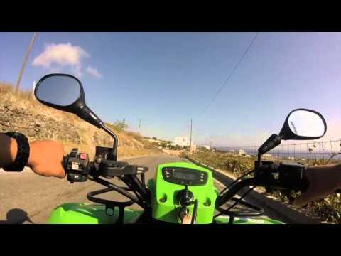 Santorini on ATV