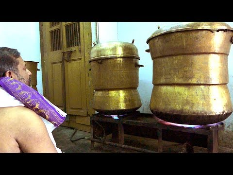 #World Biggest Idly Making | You Never Seen Before | Kanchipuram Kovil Idly | AMAZING COOKING SKILLS