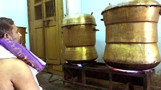#World Biggest Idly Making | You Never Seen Before | Kanchipuram Kovil Idly | AMAZING COOKING SKILLS