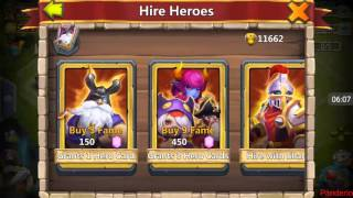 unbelievable rolling bought a member sm 36k gems rolled 6 new heros and 6 5 8 talents