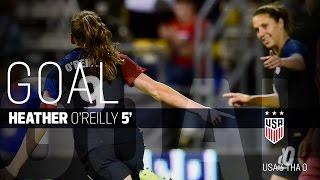 WNT vs. Thailand: Heather OReilly Goal - Sept. 15, 2016