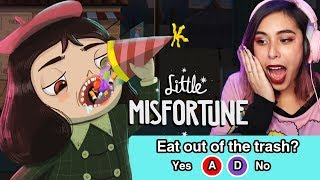 This Cute Horror Game gets even DARKER - Little Misfortune Ep 2