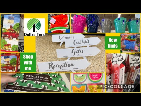 Dollar Tree Shop With Me / Dollar Tree New Finds June 24,2020/ Dollar Tree Canada 🇨🇦