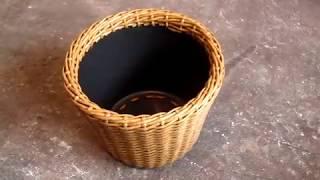 Плетем кашпо