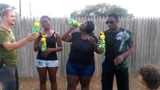32oz Lemon Juice Challenge (WARNING:VOMIT ALERT)