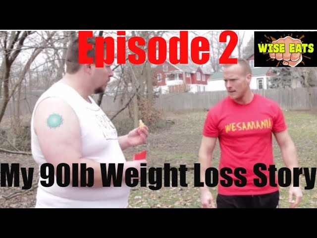 Wise Eats Podcast Episode #2 - My 90lb Weight Loss Story