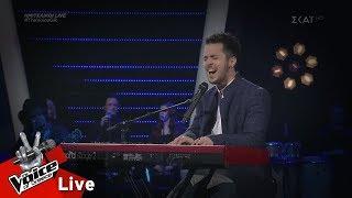 Μάριος Καπηλίδης - Αν μου τηλεφωνούσες | 1ος ημιτελικός | The Voice of Greece