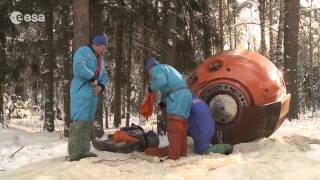 Astronauts Spend 3 Days In Below Freezing Temps For Survival Training | Video
