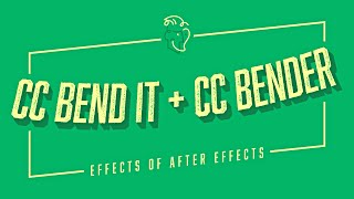 CC Bend It + CC Bender | Effects of After Effects