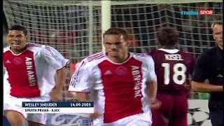 Wesley Sneijder'ın Şampiyonlar Ligi'ndeki Tüm Golleri